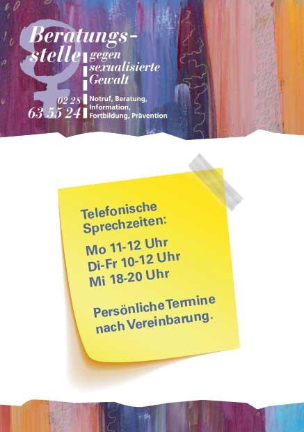 Postkarte der Beratungsstelle
