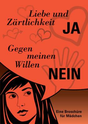 Titelseite der Broschüre zur sexuellen Selbstbestimmung für Mädchen