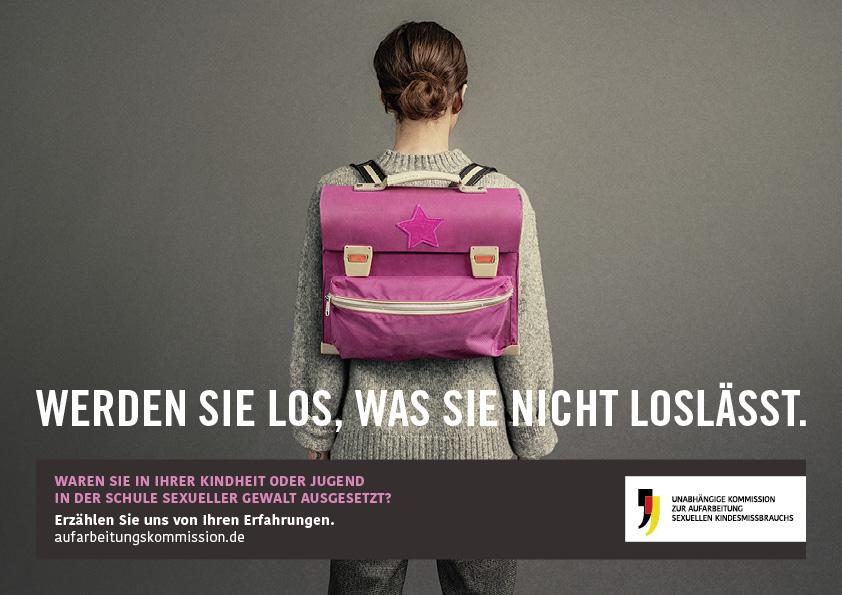 """""""Werden Sie los, was Sie nicht loslässt"""" – Unabhängige Kommission zur Aufarbeitung sexuellen Kindesmissbrauchs"""